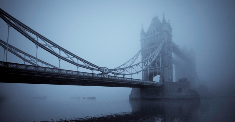 Tower Bridge in the fog for TPOTY