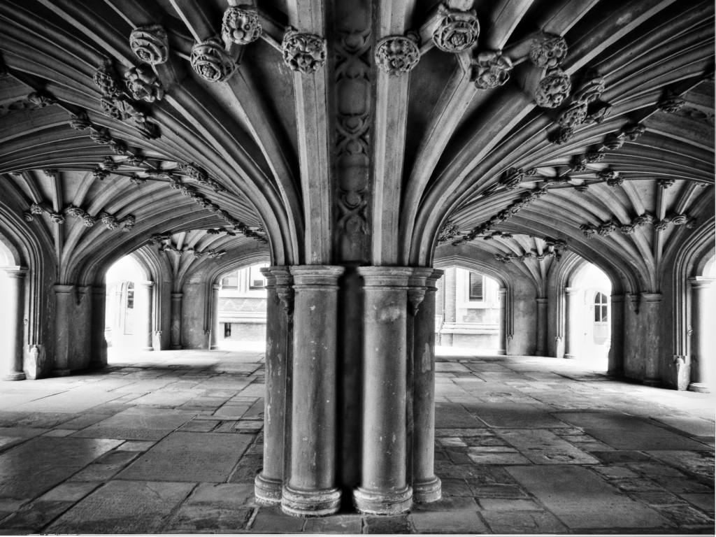 Undercroft of Chapel, Inns of Court, London