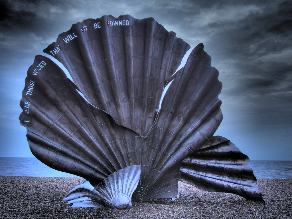 The Scallop, Aldeburgh, Suffolk