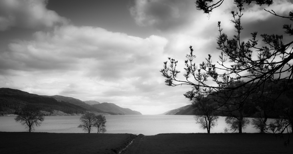 Along the length of Loch Ness