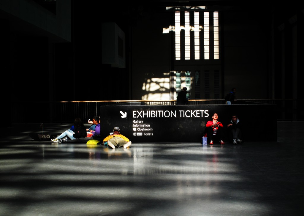 Exhibition Tickets, Tate Modern