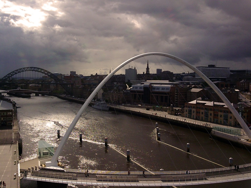 From The Baltic, Newcastle