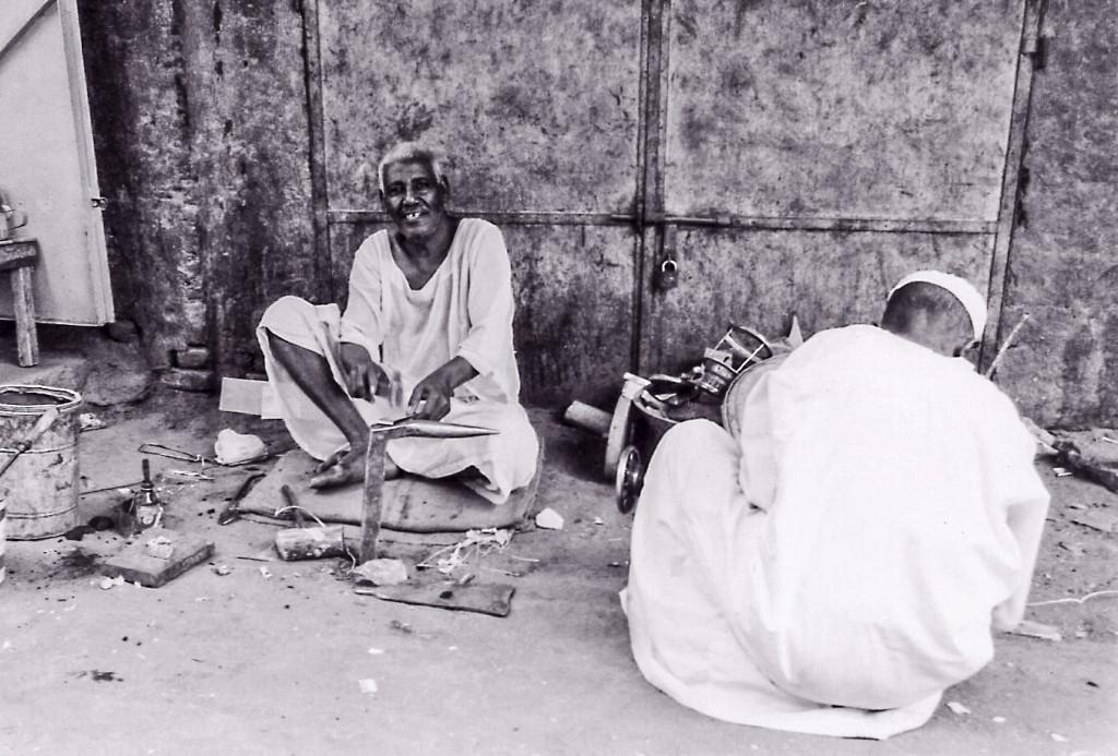 Khartoum souk - tinsmiths