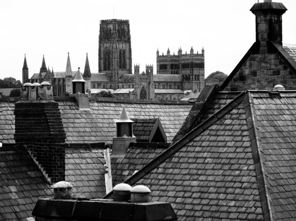 Rooftop cathedral - Durham
