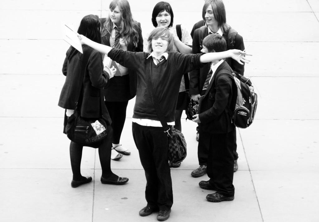 School visit - Trafalgar Square