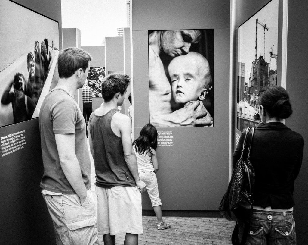 Tom Stoppard exhibition, More London